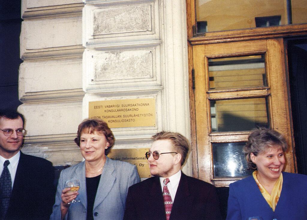 Vappuna 1997 viisumivapaus on tullut voimaan