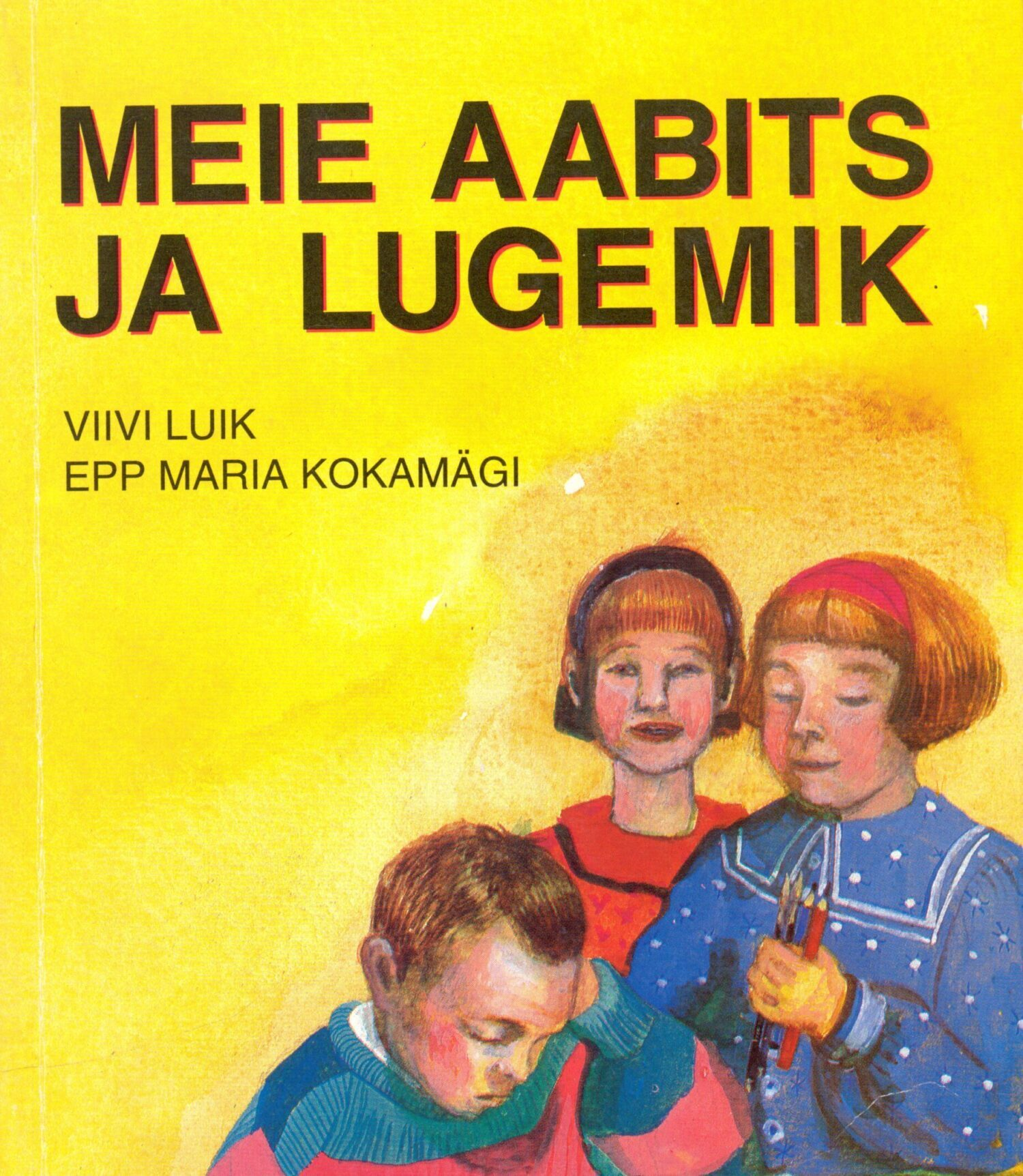 Kirjailija Viivi Luikin aputiedustelu Viron päivitetyn aapisen rahoituksen hankintaan