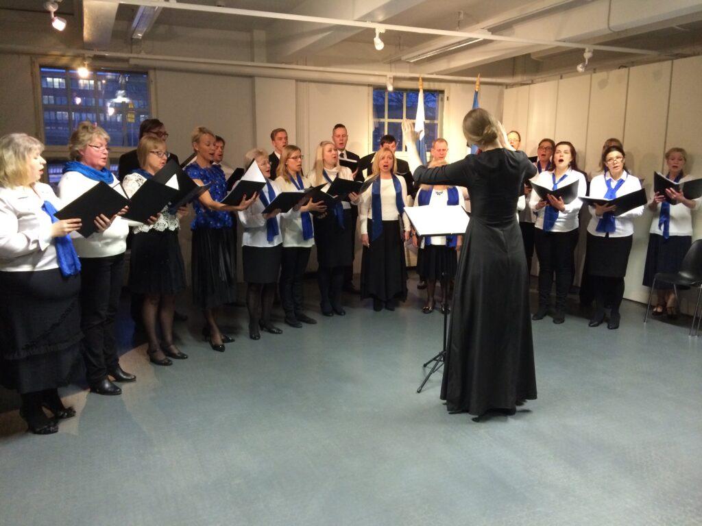 Viron itsenäisyyspäivä Helsingissä