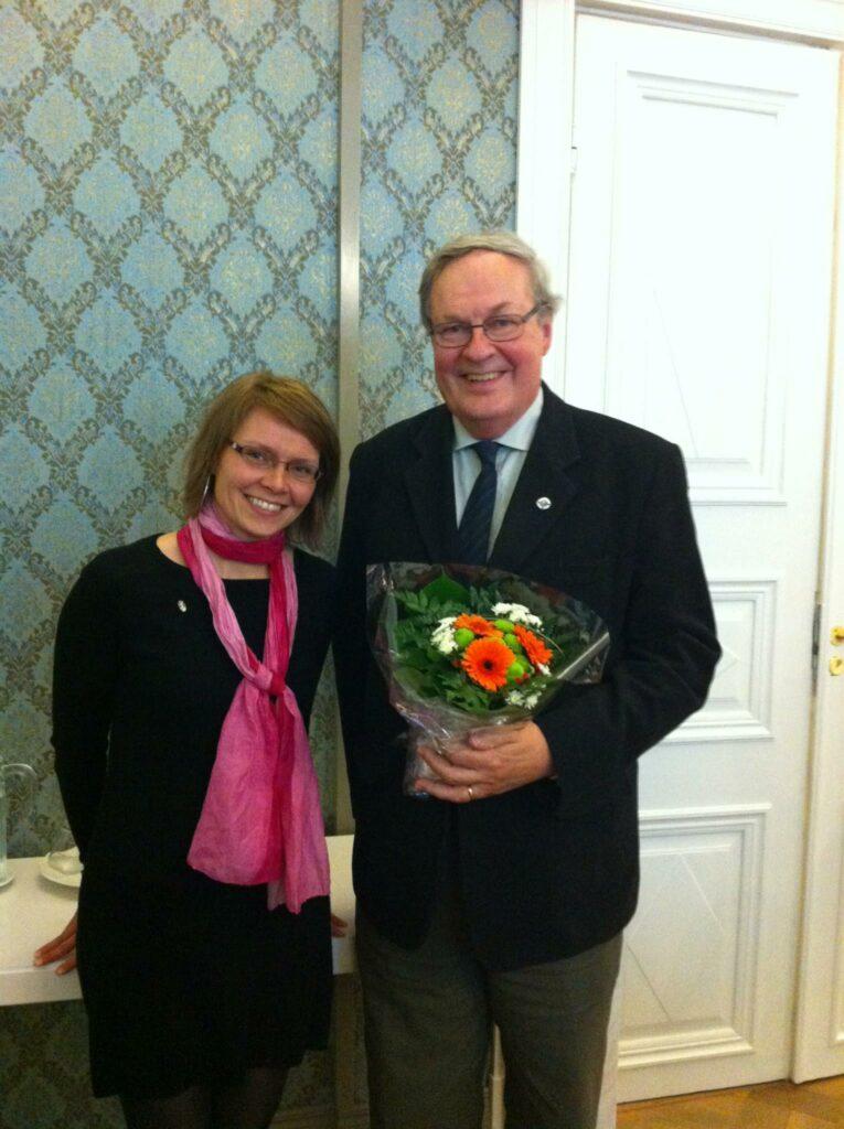 Vuoden 2012 vuosikokouksessa Jyväskylässä vaihtuu puheenjohtaja, kun Harri Raittiin tilalle valitaan Sanna Immanen